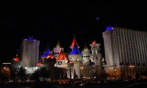 Zdjecie USA / Nevada / Las Vegas / Wiwat  Las Vegas   4- /nocą/