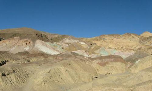 Zdjecie USA / Kalifornia / Dolina Śmierci / Paleta artystów- Dolina Śmierci