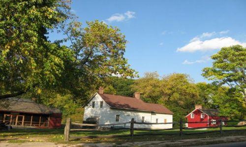 Zdjecie USA / Nowy Jork / Staten Island / wycieczka do przeszłości czyli życie w czasach kolonialnych