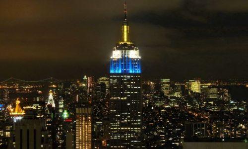 USA / NY / NYC / NYC - widok z Top of The Rock