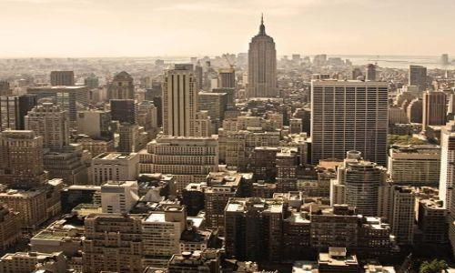 Zdjecie USA / NY / NYC / top of the rock #2
