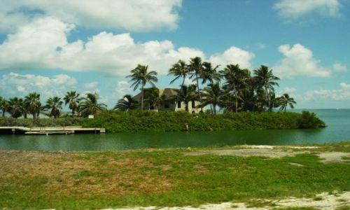 Zdjecie USA / Floryda / Florida Keys / domek na wyspie