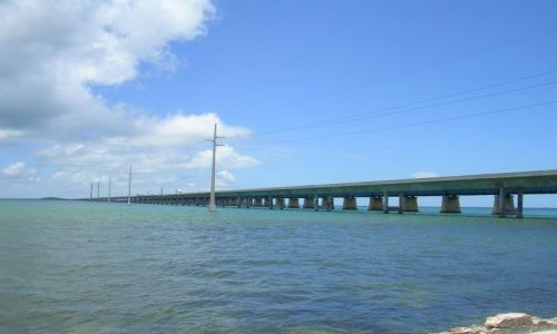 Zdjecie USA / Floryda / Florida Keys / most siedmiomilowy