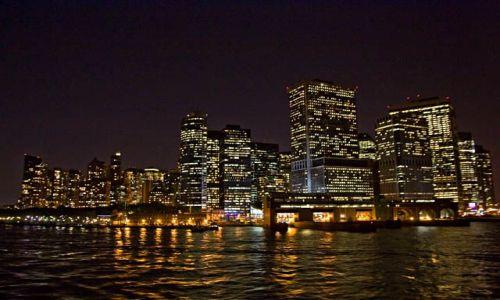 Zdjecie USA / NY / NYC / Downtown nocą
