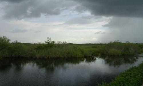 Zdjecie USA / Floryda / Everglades / nadciąga burza