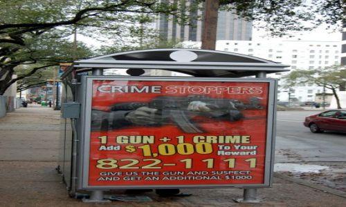Zdjecie USA / Luizjana / Nowy Orlean / Crime stoppers