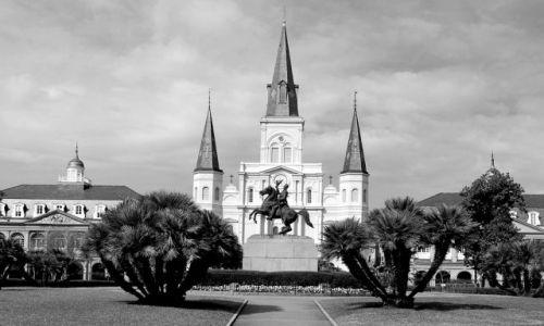 Zdjęcie USA / Luizjana / Nowy Orlean / Katedra St Louis