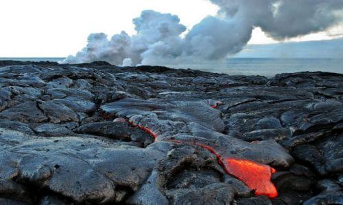 Zdjecie USA / Hawaje / Big Island / MAGMA