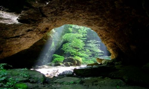 Zdjecie USA / - / Iowa / Maquoketa Cave SP / troszke jak w bajce :)