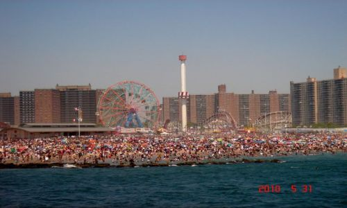 Zdjecie USA / BROOKLYN  / PLAZA / CONY ISLAND