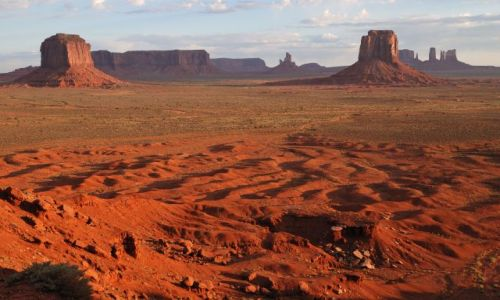 Zdjecie USA / Utah / Navajo Tribal Park  / Monument Valley
