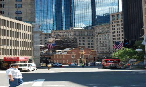 Zdjęcie USA / Massachusetts / Boston / Old State House - kolebka niepodległości USA