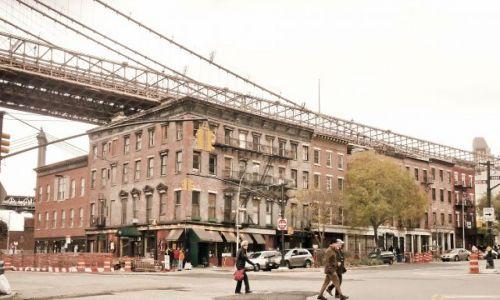 USA / NY / NYC / Mieszkania pod Brooklyn bridge