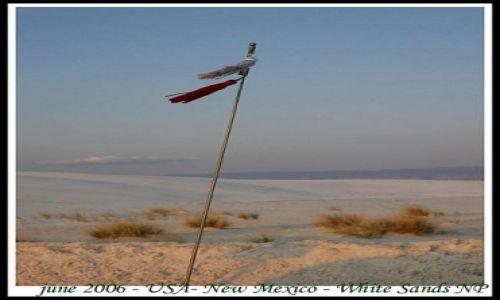 Zdjęcie USA / USA / Nowy Meksyk / Biale Piaski - park narodowy w Nowym Meksyku (2)