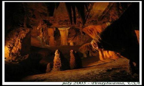 Zdjecie USA / Pensylwania / jaskinie w Apallachach / Podziemna kraina