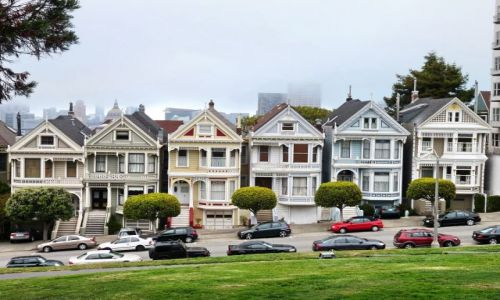 Zdjecie USA / California / San Francisco / Painted Ladies