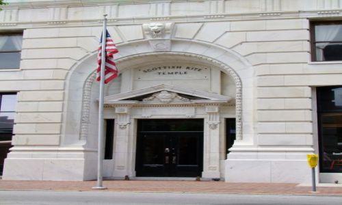 Zdjęcie USA / - / Georgia / Savannah / za tymi drzwiami czai sie ZUO