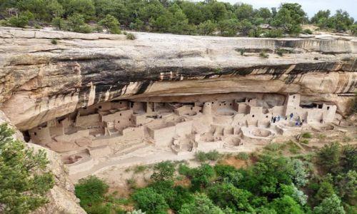 Zdjecie USA / Colorado / Mesa Verde NP / Cliff Palace