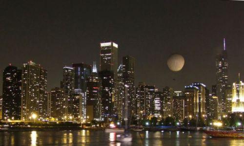 Zdjęcie USA / - / Chicago / Chicago noca