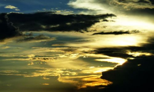 Zdjęcie USA / Nowy Meksyk / Droga / Niebo nad Nowym Meksykiem