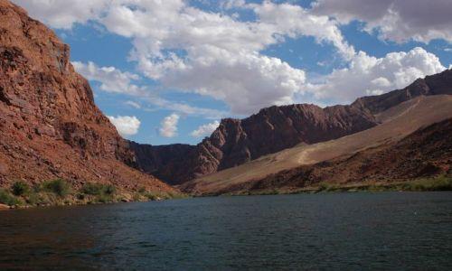 Zdjecie USA / -arizona / Colorado River / Rzeka Colorado