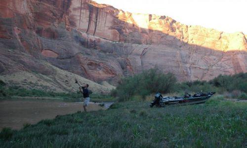 Zdjecie USA / Arizona / Arizona / Biwak nad Colorado