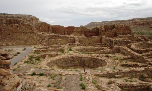 Zdjęcie USA / Nowy Meksyk / Chaco Canyon / Pueblo Bonito