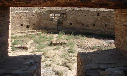 Zdjęcie USA / Nowy Meksyk / Chaco Canyon / Kiwa