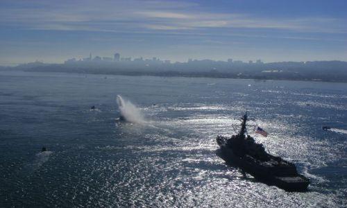 Zdjecie USA / california / San Francisco / San Francisco Air Show poczatek