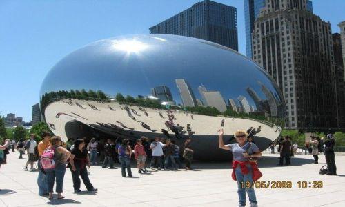 Zdjęcie USA / Chicago / Millennium park / fasolka