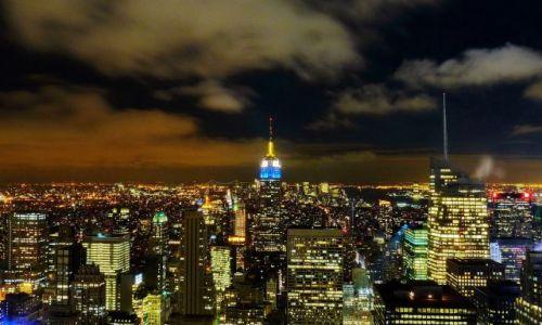 Zdjecie USA / NY / NYC / Widok z Rockefeller Center