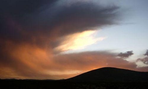 USA / - / Nowy Meksyk / Rozpalone niebo nad Nowym Meksykiem