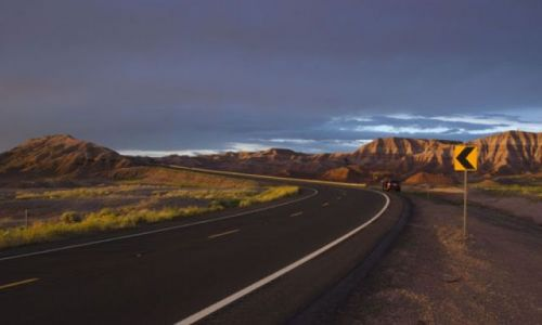 USA / Arizona / Glen Canyon / USA roud