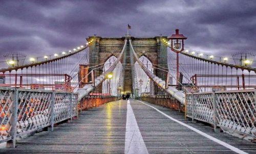 Zdjęcie USA / NY / NYC / Most