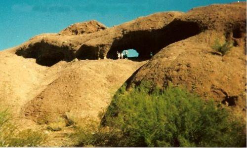 Zdjecie USA / Arizona / Phoenix / Dziurawa skała w Arizonie