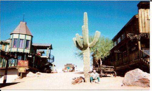 Zdjecie USA / Arizona / Goldfield Ghost Town  / Stare pustynne miasteczko