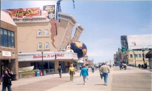 Zdjecie USA / New Jersey / Atlantic City / Promenada w Atlantic City
