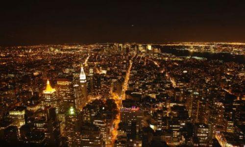 Zdjęcie USA / - / NY / NY noca