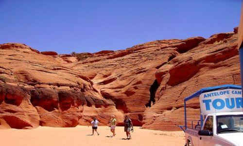 Zdjecie USA / Arizona / okolice page / wycieczka do Antelope Canyon