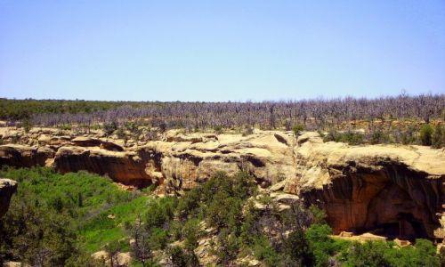 Zdjęcie USA / Kolorado / Mesa Verde /  w Mesa Verde
