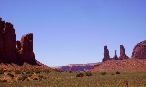 Zdjecie USA / Arizona / Monument Valley / w Dolinie Pomników