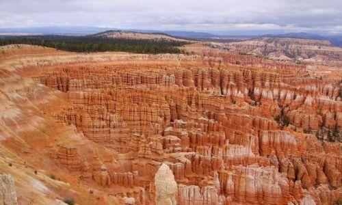 Zdjecie USA / Arizona / Bryce Canyon / po drugiej stronie amfiteatru
