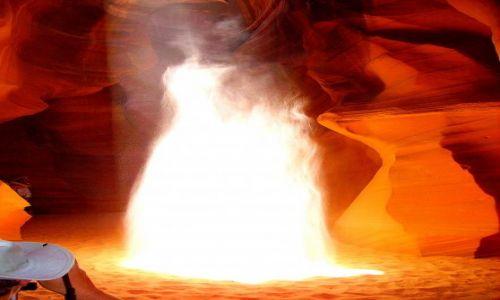 Zdjecie USA / Arizona / Antelope Canyon - kanion szczelinowy /