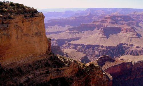 Zdjecie USA / Arizona / południowa krawędż Grand Canyon / Grand Canyon - bliżej .......