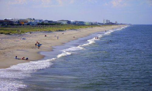 Zdjęcie USA / North Carolina / Carolina Beach / wybrzeże  w Carolina Beach