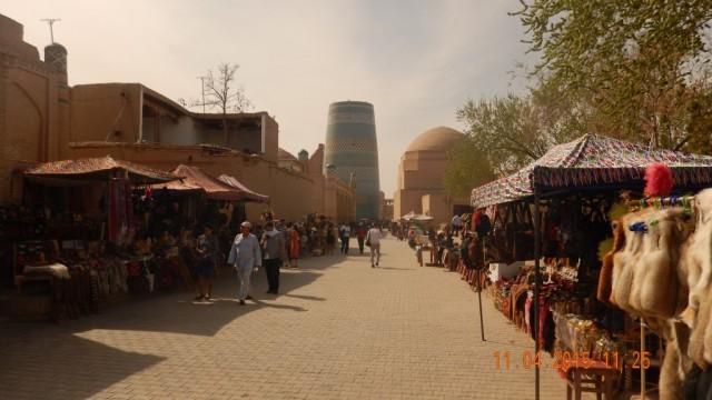 Zdjęcia: Chiwa - perełka Jedwabnego Szlaku, Azja Środkowa, Chiwa, UZBEKISTAN