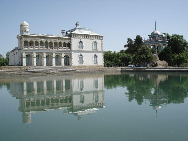 Zdjęcia: Buchara, Buchara, Pałac Emira, UZBEKISTAN