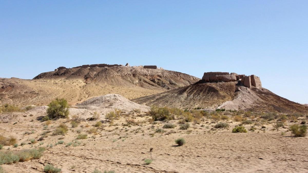 Zdjęcia: Ayaz-Kala, Karakałpacja, Ruiny fortec Ayaz-Kala, UZBEKISTAN