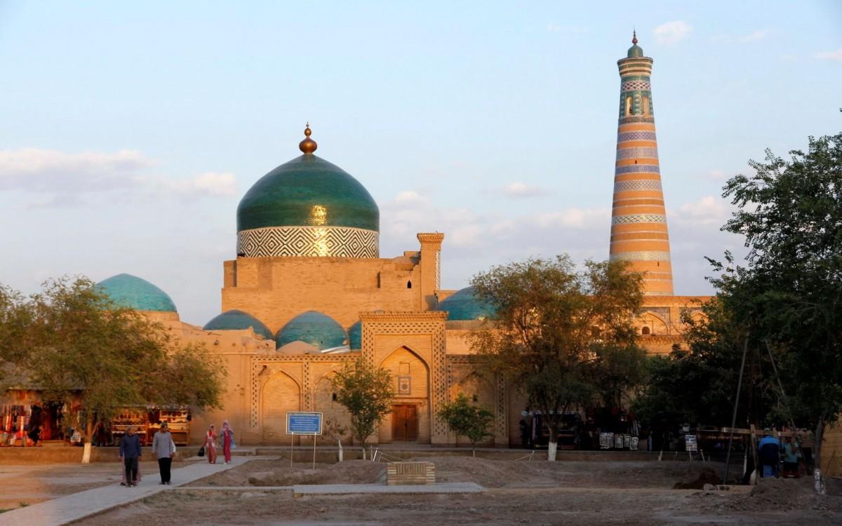 Zdjęcia: Chiwa, Chorezm, Stare miasto w Chiwie, UZBEKISTAN