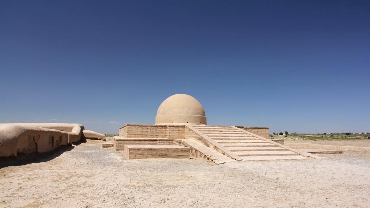 Zdjęcia: Termez, Surchandaria, Fayaz-Tepe buddyjska świątynia i monaster z początków naszej ery, UZBEKISTAN